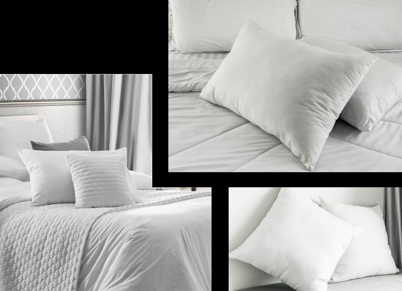 composition de 3 photos d'oreiller